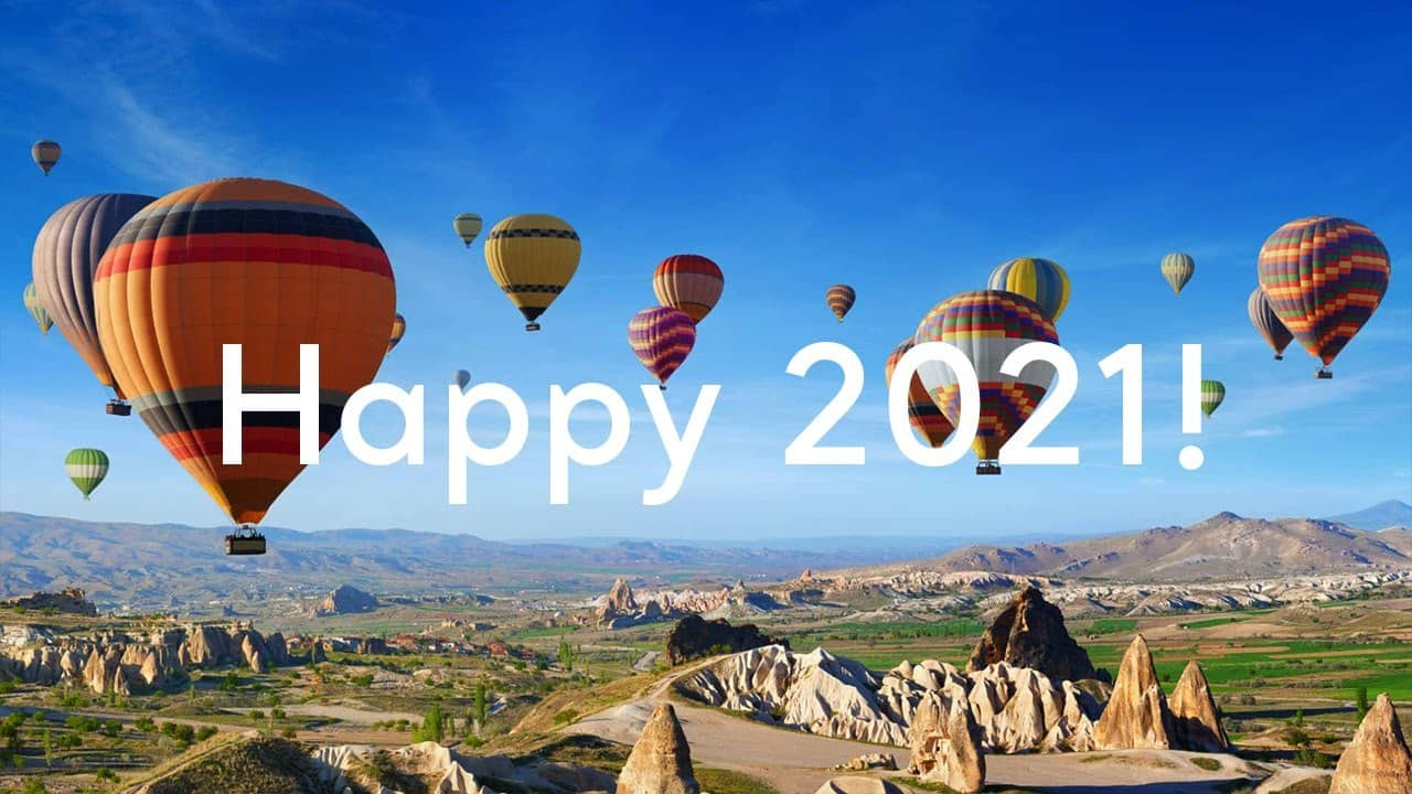 Happy 2021! | Go Turkey