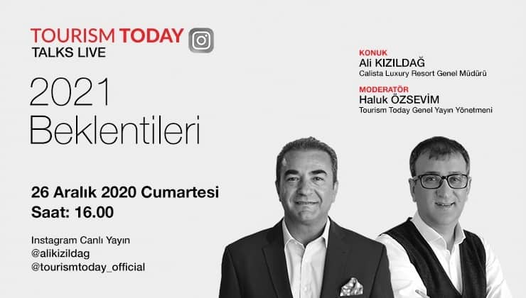TourismToday Talks Live - 2021 Beklentiler - Ali Kızıldağ - Calista Luxury Resort