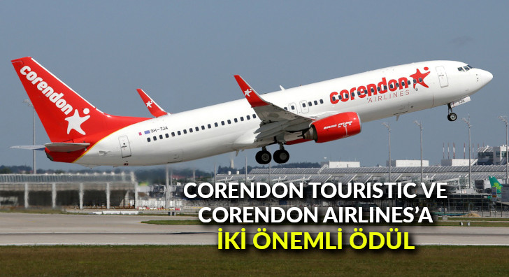 Corendon Touristic ve Corendon Airlines'a iki önemli ödül